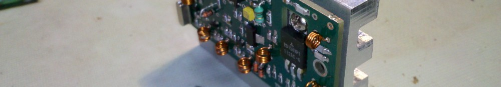 VHF Transverter Heatsink