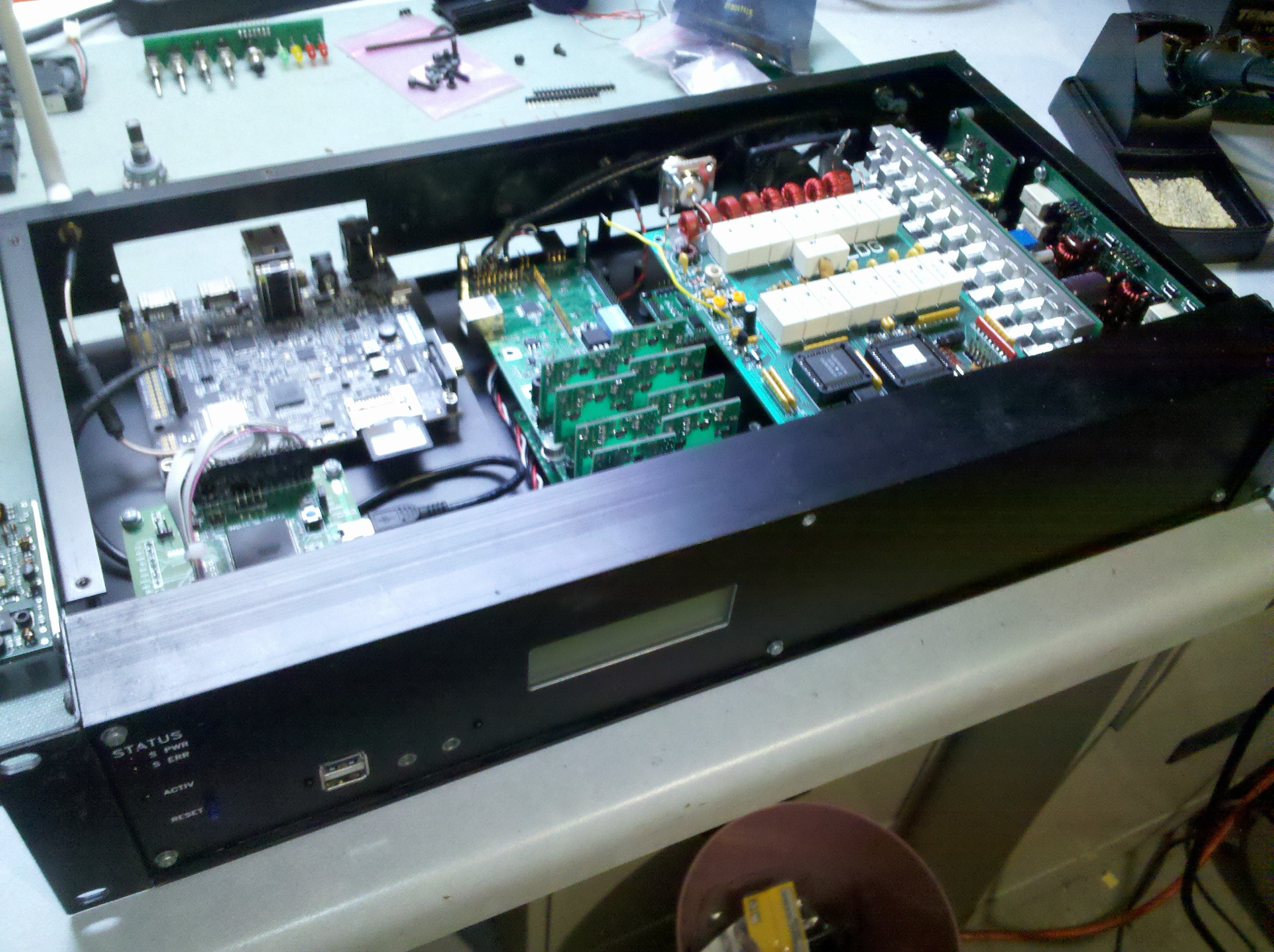Packer Amp   RF Projects