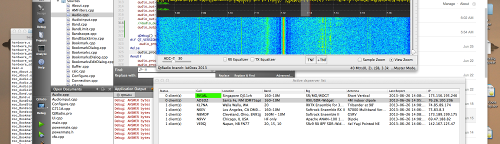It works!  QtRadio on OSX 10.8